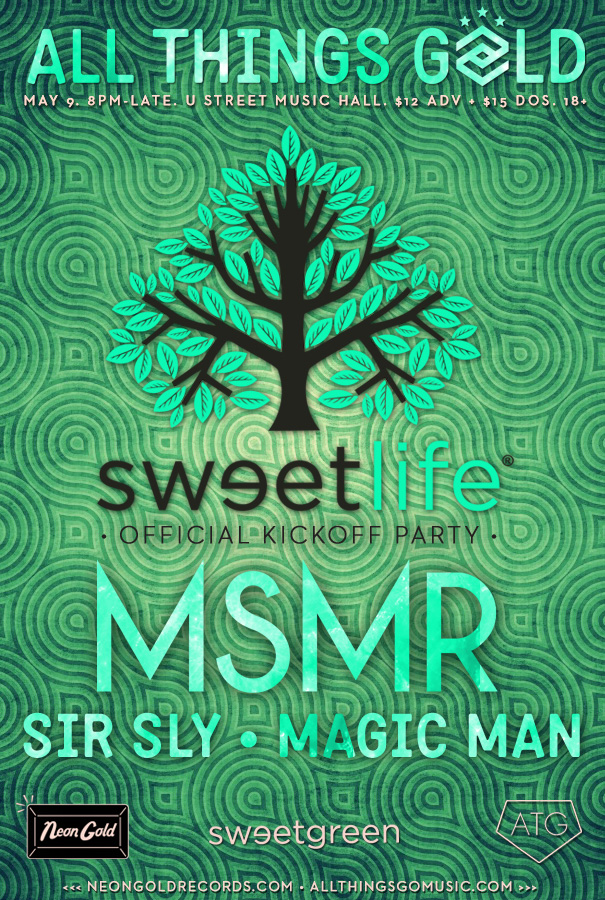 Sweetlife 2013: Pre Party at UHALL w/ MS MR, Sir Sly, and Magic Man (5/9)