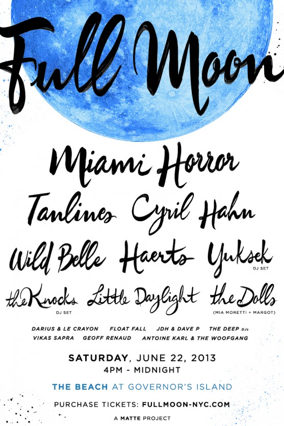 Full Moon Main Flyer