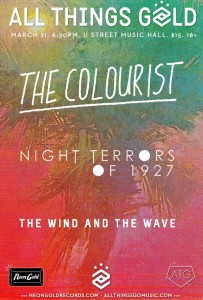 9:30 Club & All Things Gold Present: The Colourist @ U Street Music Hall