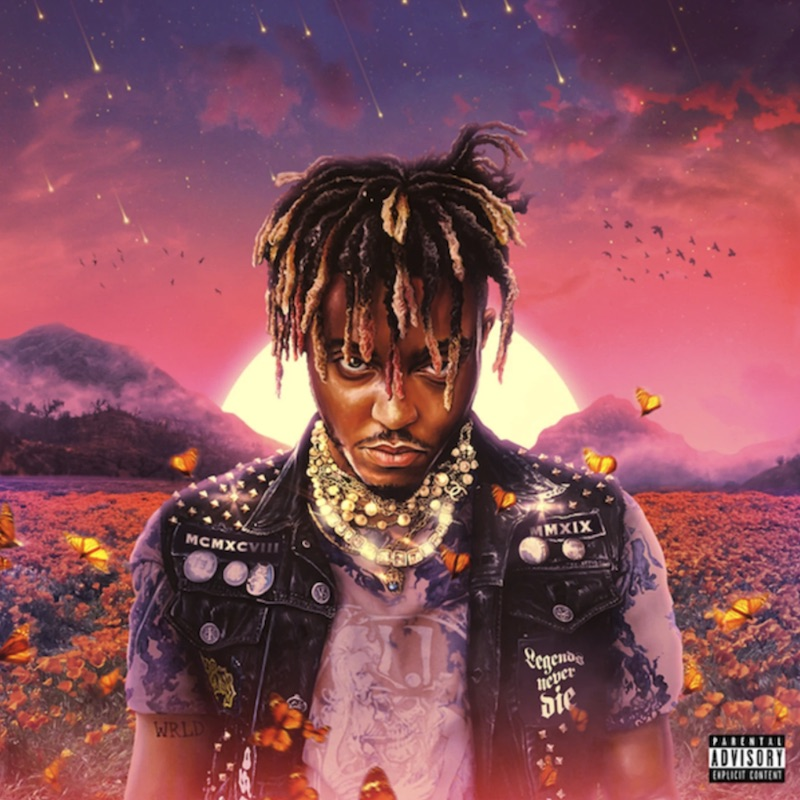 Juice WRLD Legends Never Die album cover